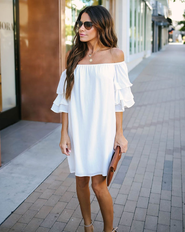 Augustus Off The Shoulder Dress - FINAL SALE