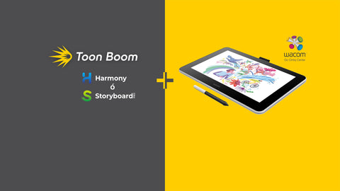 "Wacom ONE 13"" Pen Display & ToonBoom Versión Estudiante 1 año"