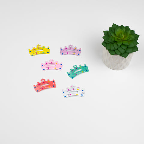 Princess Love Hair Clip Set