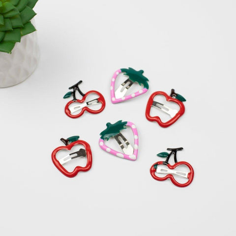 Berry Fun Hair Clip Set