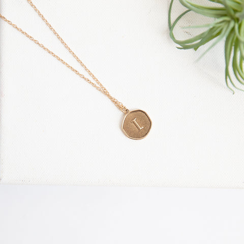 Initial Collection Necklace - Letter L