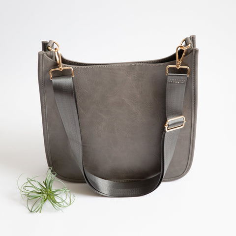 Wanderlust Crossbody Bag - Gray