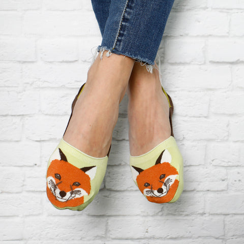 No Show Socks - Fox
