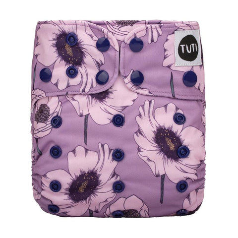 tuti OSFM cloth nappy - bloom