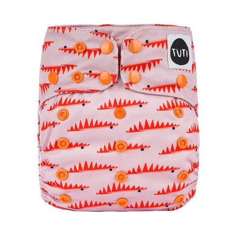 tuti OSFM cloth nappy - fever pitch