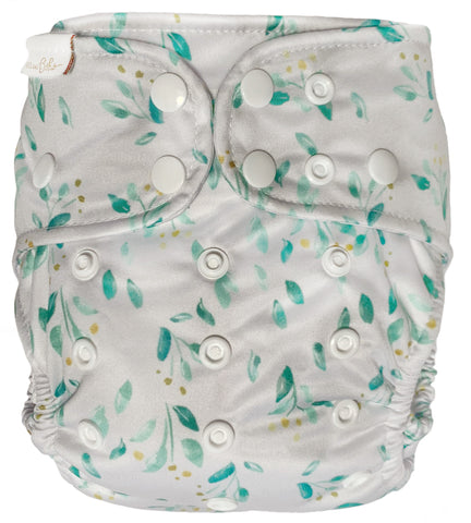 bare + boho OSFM V3 cloth nappy - garden