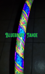Blueberry Tahoe Reflective Taped Hoop