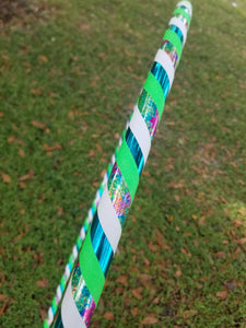 Wild Tie Dye Beginner Taped Hoop