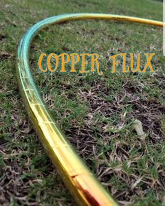 Copper Flux Taped Hoop