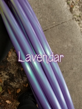 Load image into Gallery viewer, Lavendar Bare Hoop
