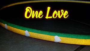 One Love Speciality Reflective Taped Hoop