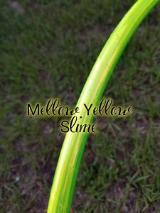 Mellow Yellow Slime Taped Hula Hoop