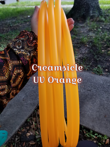 Creamsicle - UV Orange Bare Hoop