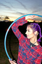 Load image into Gallery viewer, Indigo Sunrise Hoop Collapsible