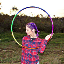 Load image into Gallery viewer, Rainbow Spectrum Taped Hoop
