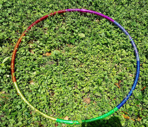 Rainbow Spectrum Taped Hoop