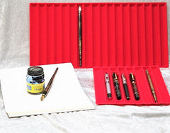 Pen Display Tray Liner - Brilliant Red
