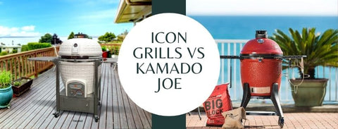 Icon Grills vs Kamado Joe