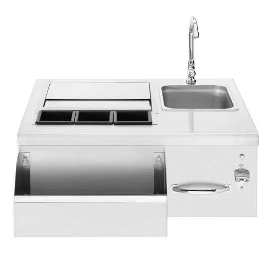 "Summerset Grills - SSBC-30L - 30"" Beverage & Prep Station w/ LED Illumination Sinks & Bar Prep Default Title Summerset Grills"
