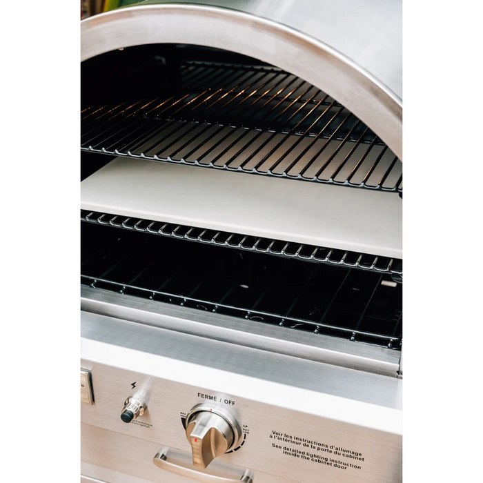 Summerset Grills - SS-OVBI - The Built-In Outdoor Oven - Natural Gas or LP Built-In Oven Natural Gas,Propane Summerset Grills Black