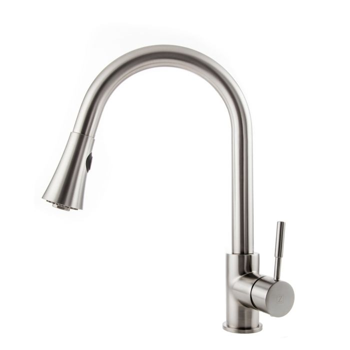 ZLINE - EDISON KITCHEN FAUCET IN BRUSHED NICKEL (EDS-KF-BN) Kitchen Faucets Default Title Zline Beige