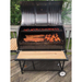 Moss Grills - Single BBQ Barrel Custom Grill with Wood Countertops (103) Single Barrel Grills Default Title Moss Grills Sienna