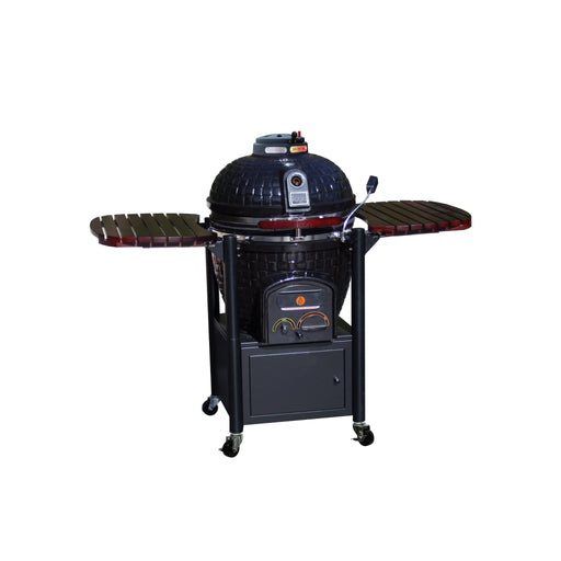 Icon Grills 600 Series 600 Sq. Inch Kamado Grill W/Cabinet Cart - AllPro Furnishings