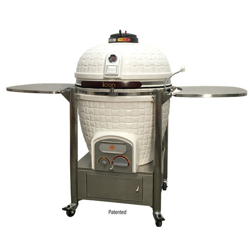 Icon Grills 900 Series 800 Sq. Inch Kamado Grill W/Cabinet Cart - AllPro Furnishings
