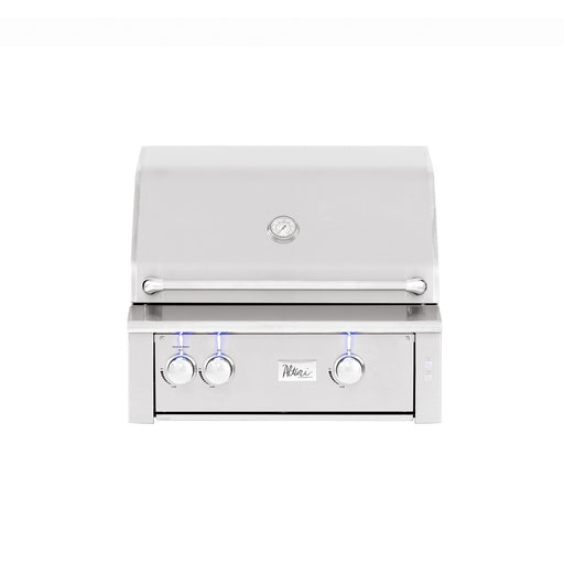 "Summerset Grills - ALT30 - Alturi 30"" w/ SS#304 Main Burners or Cast Red Brass Main Burners & Rotisserie Back Burner Built-In Grill #304 Stainless Steel / Natural Gas,#304 Stainless Steel / Propane,Cast Red Brass / Natural Gas,Cast Red Brass / Propane Summerset Grills Light Gray"