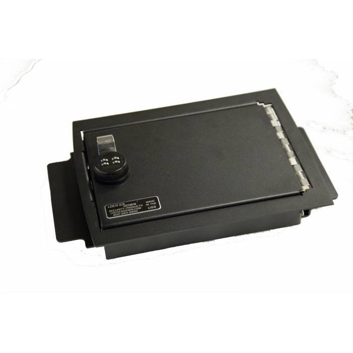 LOCK'ER DOWN - CONSOLE SAFE 2009 - 2014 FORD F150 WITH FLOOR CONSOLE W/ SHIFTER ON COLUMN (MODEL LD2025) Vehicle Console Safe Default Title Lock'er Down Dark Slate Gray