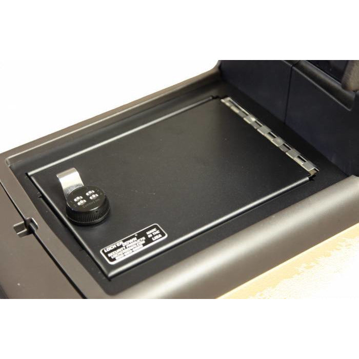 LOCK'ER DOWN - CONSOLE SAFE 2009 - 2014 FORD F150 WITH FLOOR CONSOLE W/ SHIFTER ON COLUMN (MODEL LD2025) Vehicle Console Safe Default Title Lock'er Down Dark Olive Green