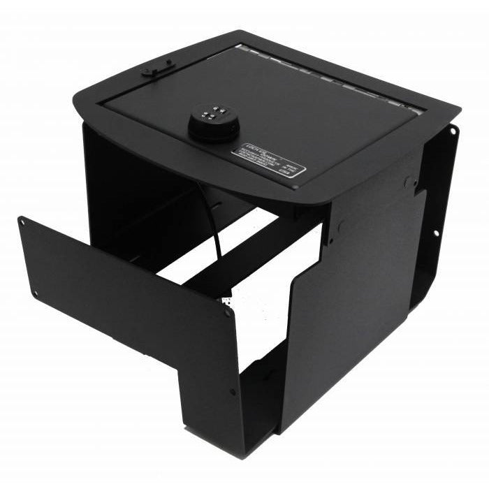 LOCK'ER DOWN - CONSOLE SAFE 2007 TO 2014 CHEVROLET SILVERADO, SUBURBAN & TAHOE GMC SIERRA, YUKON & YUKON XL (MODEL LD2011X) Vehicle Console Safe Default Title Lock'er Down Black