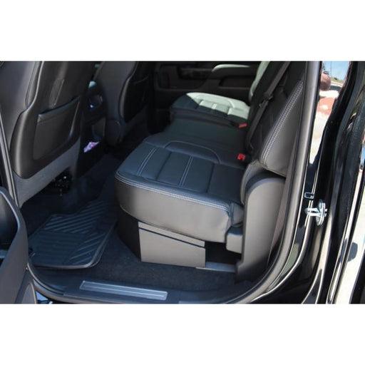 LOCK'ER DOWN - SUVAULT® 2007 - 2018 SILVERADO / SIERRA CREW CAB UNDER SEAT LONG GUN SAFE (2019- 2500, 3500) (MODEL LD3011) Vehicle Long Gun Storage Default Title Lock'er Down Dark Slate Gray