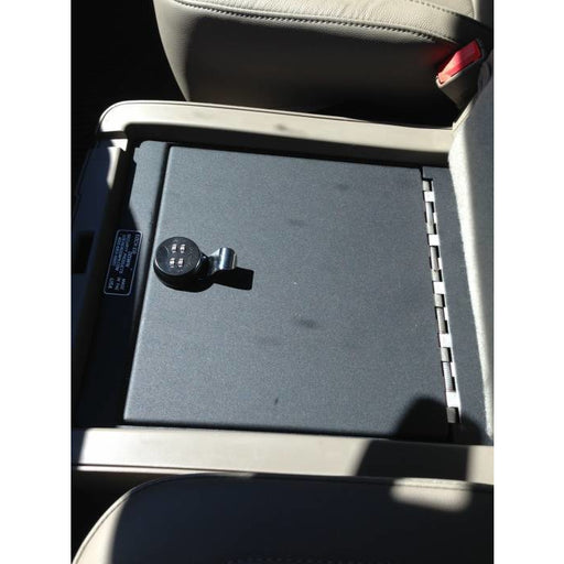 LOCK'ER DOWN - UNDER SEAT CONSOLE SAFE 2014-2018 UP CHEVROLET SILVERADO & GMC SIERRA 1500 ALSO 2015 - 2019 1500, 2500 & 3500 SERIES (MODEL LD2041) Vehicle Console Safe Default Title Lock'er Down Slate Gray