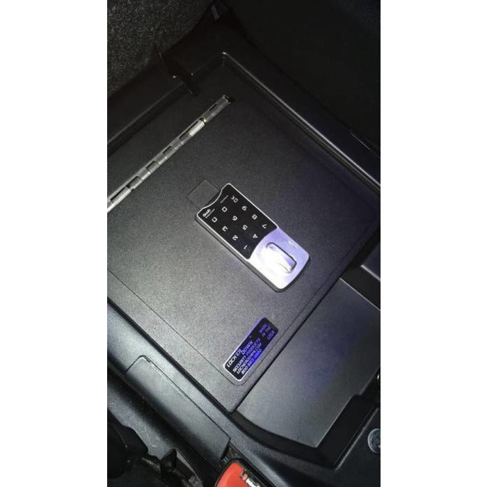 LOCK'ER DOWN - EXXTREME CONSOLE SAFE® 2007 TO 2020 TOYOTA TUNDRA W/ SPLIT BENCH SEAT (MODEL LD2049EX) Vehicle Console Safe Default Title Lock'er Down Dark Slate Gray
