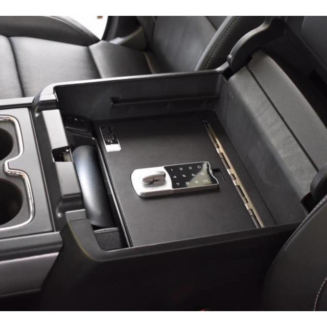 LOCK'ER DOWN - CONSOLE SAFE 2015 - 2020 CHEVROLET SUBURBAN, TAHOE & GMC YUKON (MODEL LD2042) Vehicle Console Safe Default Title Lock'er Down Dim Gray