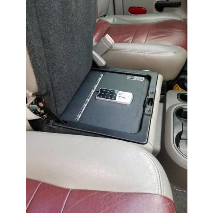 LOCK'ER DOWN - EXXTREME CONSOLE SAFE® FOR 2006 TO 2019 DODGE RAM 1500, 2500 & 3500 EXCEPT 2019 1500 UNDER FRONT SEAT (MODEL LD2058EX) Vehicle Console Safe Default Title Lock'er Down