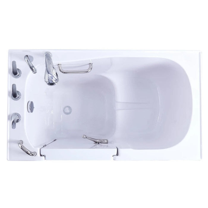 Ellas Bubbles - S-Class 3052 Acrylic Walk In Tub Walk-in Tub Right / Soaking,Right / Soaking + Heat,Right / Dual,Right / Dual + Heat,Left / Soaking,Left / Soaking + Heat,Left / Dual,Left / Dual + Heat Ella's Bubbles Light Steel Blue
