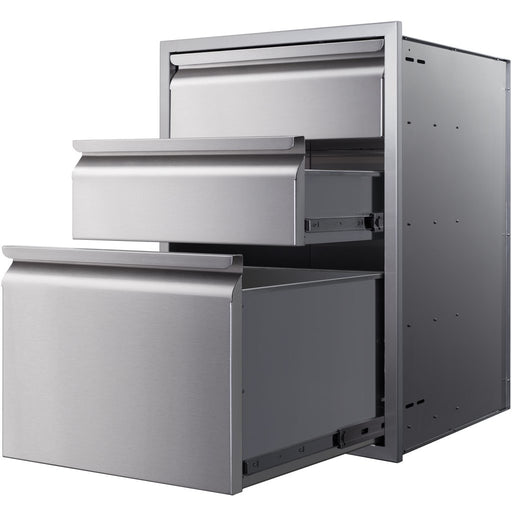"Memphis Grills - VGC15DBC3 - Controller Drawer 21"" - Three Stack Storage Drawer Default Title Memphis Grills Dim Gray"