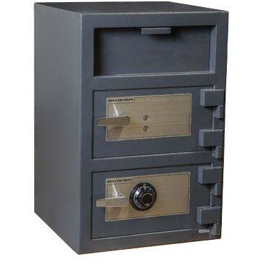 Hollon Safes - FDD-3020CK - Double Door Depository Safe - AllPro Furnishings