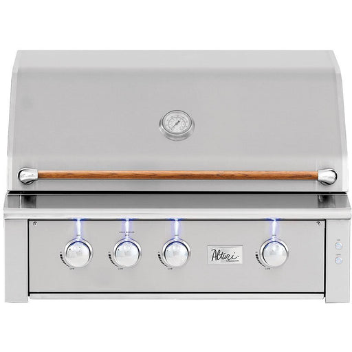 "Summerset Grills - ALT36 -  Alturi 36"" Built-in Grill   w/ SS#304 Main Burners or Cast Red Brass Main Burners & Rotisserie Back Burner Built-In Grill #304 Stainless Steel / Natural Gas,#304 Stainless Steel / Propane,Cast Red Brass / Natural Gas,Cast Red Brass / Propane Summerset Grills Gray"