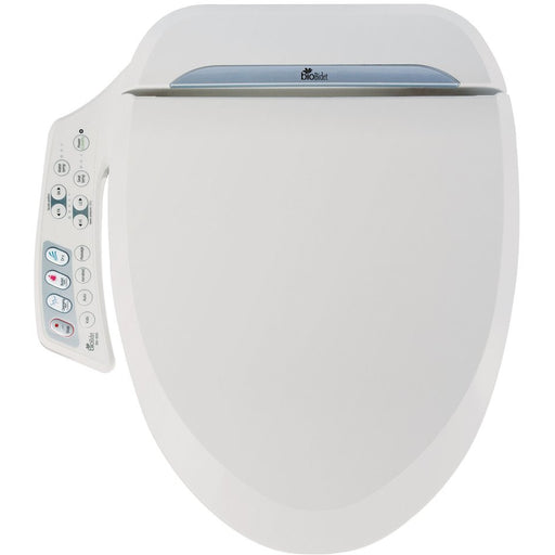 Bio Bidet - ULTIMATE Bidet Seat (BB-600) Bidet Seat Elongated,Round Bio Bidet Light Gray