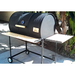 Moss Grills - Single BBQ Barrel Custom Grill with Wood Countertops (103) Single Barrel Grills Default Title Moss Grills Gray
