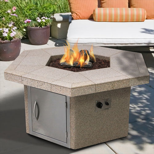 Cal Flame - Firepit - FPT-H401M Firepit Default Title Cal Flame Gray