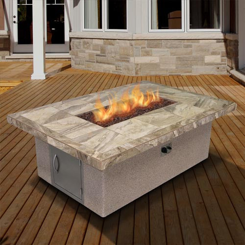 Cal Flame - Firepit - FPT-RT501M Firepit Default Title Cal Flame Rosy Brown