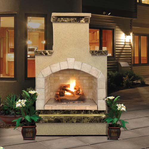 Cal Flame - Fireplace - FRP-908-2 Fireplace Default Title Cal Flame