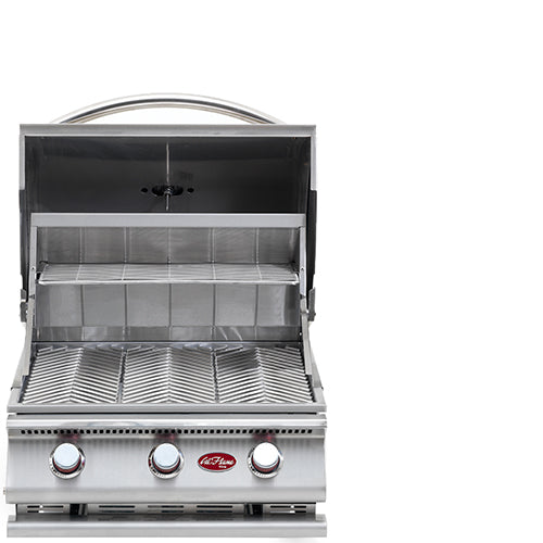 Cal Flame - G Series 3 Burner Built In Grill - BBQ18G03 Built-In Grill Default Title Cal Flame Dim Gray