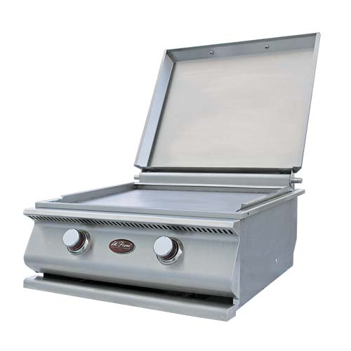 Cal Flame - HIBACHI DROP IN GRILL LP - BBQ14900P DROP IN GRILL Default Title Cal Flame Light Gray
