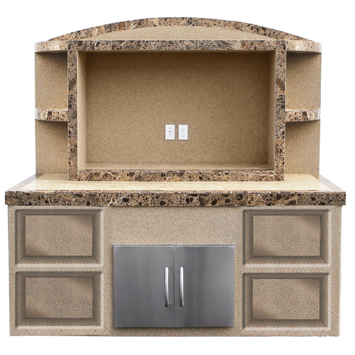 Cal Flame - Outdoor Entertainment Center CRYSTAL - ODC-2 Outdoor Entertainment Center Default Title Cal Flame