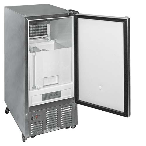 Cal Flame - OUTDOOR STAINLESS STEEL ICE MAKER - BBQ10700 Ice Maker Default Title Cal Flame Light Gray